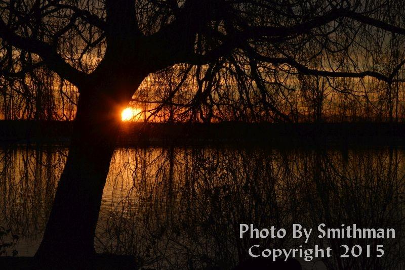 Fraser River at dusk