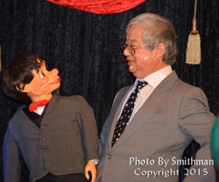 Dennis Chan, Ventriloquist