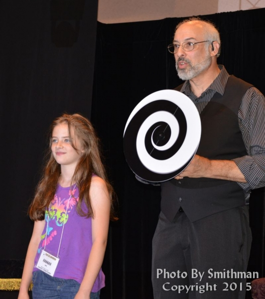 Hannah with Bruce Kalver